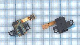 Шлейфы - Шлейф аудио-разъема для Sony Xperia ZR C5502, 0