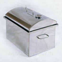 Грили, мангалы, коптильни - Коптильня горячего копчения Дымок 500-КТ нерж. сталь, 0