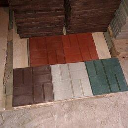 Садовые дорожки и покрытия - Плитка полимерпесчаная 330х330х22 усиленная , 0