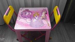 Столы и столики - Детский столик и два стула, 0
