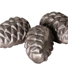 Камни для печей - Чугунный камень для каменки овальный, 0