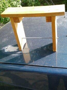 Скамейки - Скамейка деревянная 40х30х15 см., 0