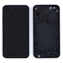 Корпусные детали - Задняя крышка для Inoi 2 Lite черная, 0