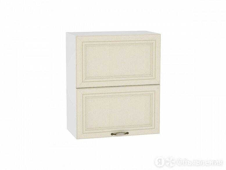 Шкаф верхний горизонтальный Шале с подъемным механизмом ВГ 602 Ivory-Белый по цене 11386₽ - Мебель для кухни, фото 0
