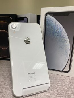 Мобильные телефоны - iPhone XR White 64gb б/у Ростест, 0