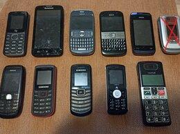 Мобильные телефоны - 10 телефонов/смартфонов в разном состоянии, 0