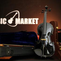 Смычковые инструменты - Скрипка 4/4 с комплектом Fabio SF3900 BK, 0
