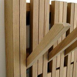 Вешалки настенные - вешалка интерьерная из массива дерева, 0