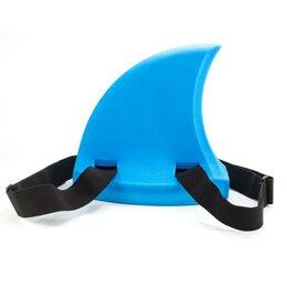 Аксессуары для плавания - Акулий плавник для плавания FinFan голубой PLG001, 0