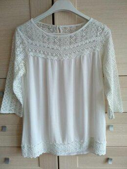 Блузки и кофточки - Белая блузка Waikiki р.48, 0