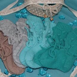 Носки -  детские теплые носочки ручной работы, 0