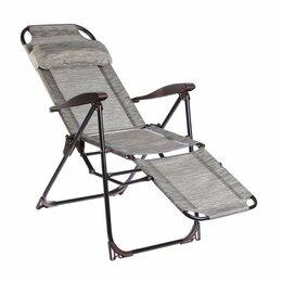 Качели, шезлонги - Кресло-шезлонг скл. Ника КШ3,подножка, 0