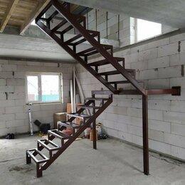 Лестницы и элементы лестниц - Лестница металлическая на второй этаж, 0