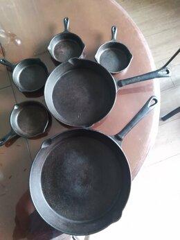 Сковороды и сотейники - Чугунные сковородки, 0