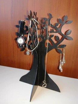 Подставки и держатели для украшений - Подставка для часов и украшений в виде дерева, 0
