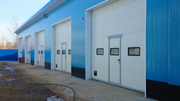 Заборы и ворота - Ворота для складов и гаражей, 0