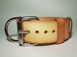 Ошейники  - Кожаный ошейник для собак, ширина 4 см. +…, 0