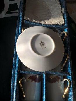 Кружки, блюдца и пары - Набор для эспрессо из костяного фарфора на 6…, 0