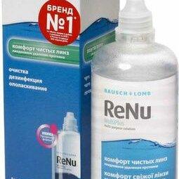 Дезинфицирующие средства - Раствор для МКЛ RENU MultiPlus 240 мл+конт, 0