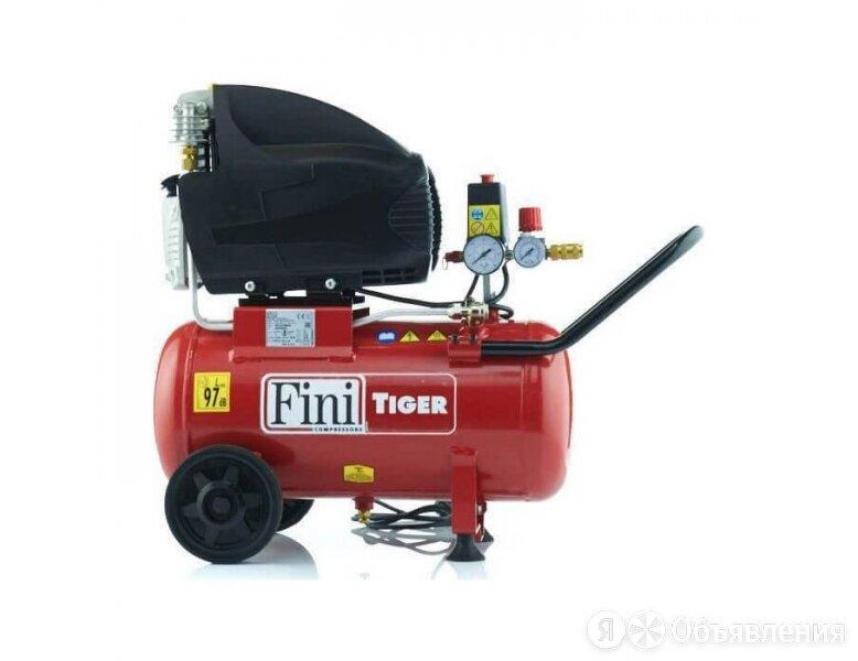 Поршневой компрессор Fini SUPERTIGER/I 285M, коаксиальный привод, 260 л/мин, 220 по цене 35380₽ - Воздушные компрессоры, фото 0