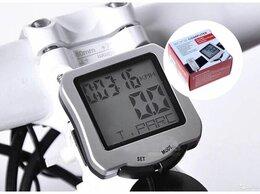 Велокомпьютеры - Велокомпьютер  SD-570 с бирюзовой подсветкой,…, 0