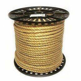 Веревки и шнуры - Веревка джутовая 10 мм 100 м, 0