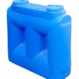 Баки - Прямоугольная узкая пластиковая емкость на 2 куба. Входит в дверь., 0
