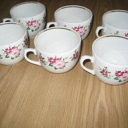 Кружки, блюдца и пары - Фарфоровые чайные чашки, 0