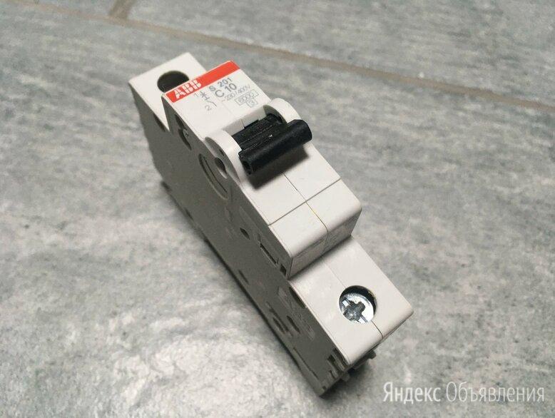 Выключатель автоматический однополюсный ABB 10А С S201 6кА (S201 C10) по цене 300₽ - Защитная автоматика, фото 0
