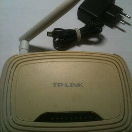 Оборудование Wi-Fi и Bluetooth - Wifi роутер TP-Link TL-WR743ND, 0