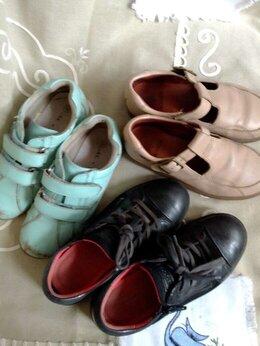 Балетки, туфли - 3 пары туфли кожа  р.30,31,32 , 0