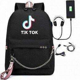 Рюкзаки - Рюкзак с кабелем для зарядки и наушников TikTok, 0