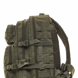 Рюкзаки - Рюкзак тактический RU 064 цвет Хаки ткань Оксфорд 35л, 0