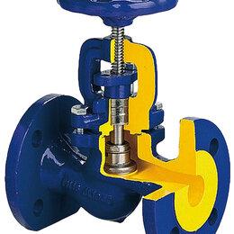 Запорная арматура - V234F-080 запорный вентиль сильфонный стальной ф/ф Ду 080 Ру 40 tmax=400oC, 0