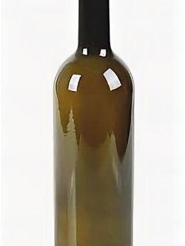 Бутылки - Бутылка винная 0.7 л Бордо оливковая, 0