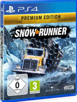 Игры для приставок и ПК - PS4 Snowrunner Premium, 0