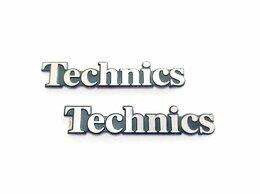 Акустические системы - Эмблема Technics (реплика), 47 х 9мм, комплект 2…, 0