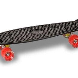 Скейтборды и лонгборды - Круизер INDIGO LS-P2206B 56,5*15 см Черный, 0