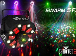Световое и сценическое оборудование - CHAUVET-DJ Swarm 5 FX светодиодный многолучевой…, 0