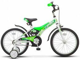 "Велосипеды - Велосипед Stels Jet 18"" Z010/зеленый, 0"
