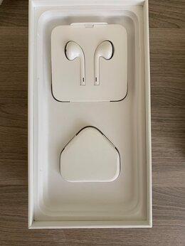 Наушники и Bluetooth-гарнитуры - Коробка, наушники, евровилка - от айфона 7+, 0