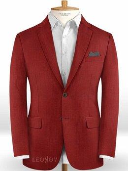 Пиджаки - Красный пиджак из шерсти – Scabal, 0