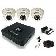 """Камеры видеонаблюдения - Комплект видеонаблюдения """"Для помещений 3 HD"""", 0"""