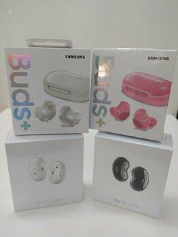 Наушники и Bluetooth-гарнитуры - Samsung buds + (новые), 0