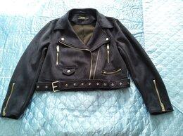 Куртки - Куртка косуха под замшу zara. новая XL, 0