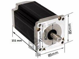 Принадлежности и запчасти для станков - Шаговый двигатель 86BYG450C-114 Момент 120кг*см, 0