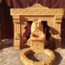 Декоративные фонтаны - Родник, фонтан из натурального камня , 0