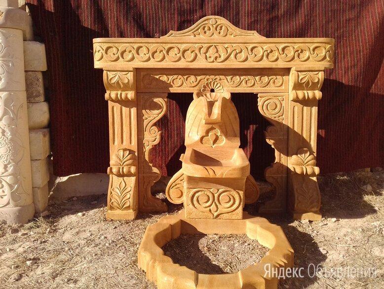 Родник, фонтан из натурального камня  по цене 50000₽ - Декоративные фонтаны, фото 0
