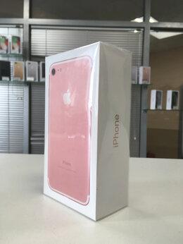 Мобильные телефоны - iPhone 7 32gb rose gold (A1778) Ростест, 0