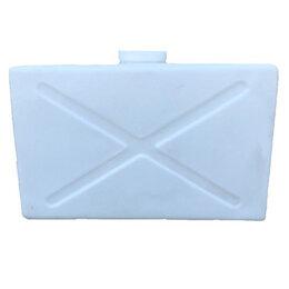 Баки - Прямоугольный пластиковый бак на 120 литров. Горизонтальный., 0